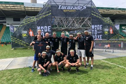 Our PRP Team at Charity Tough Mudder Challenge