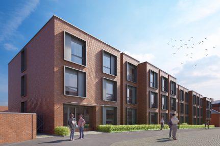 De Montfort Mews, Leicester Project Image