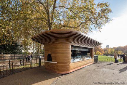 The Royal Parks Kiosks, London